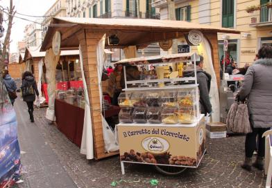 Un fiume di cioccolato per le strade del Vomero