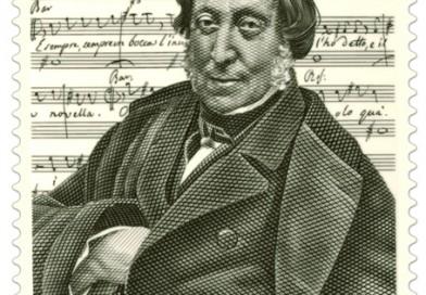 Emissione francobollo Gioachino Rossini