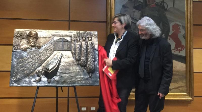 Ignazio Colagrossi con Elena Alessandra Anticoli de Curtis