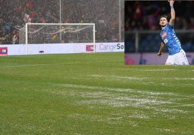 Fabian Ruiz è l'uomo della pioggia, il Napoli vince nel diluvio e spaventa la Juventus