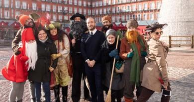 Il volo della Befana, da Napoli a Madrid