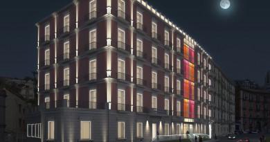 Un nuovo volto per l'hotel Britannique, in corso Vittorio Emanuele