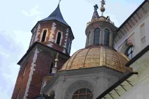 la cupola di oro della cattedrale