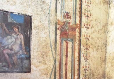 Nuovi scavi a Pompei, amore e sensualità negli affreschi della Regio V