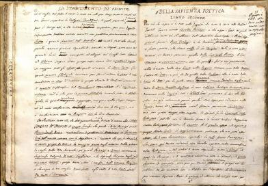 L'Infinito del 1819 esposto a Napoli per il bicentenario