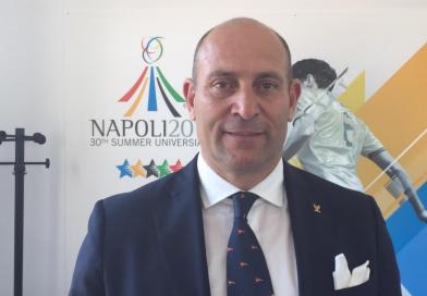"""Universiadi, Davide Tizzano è lo """"Sport operation manager"""""""
