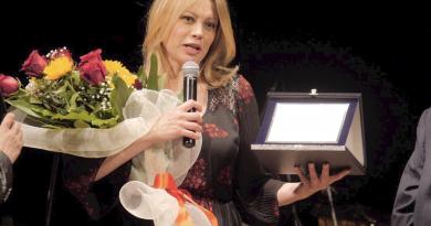 Anna Falchi ambasciatrice di solidarietà