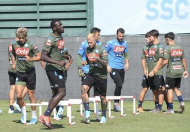 Il Napoli prepara la sfida alla Sampdoria