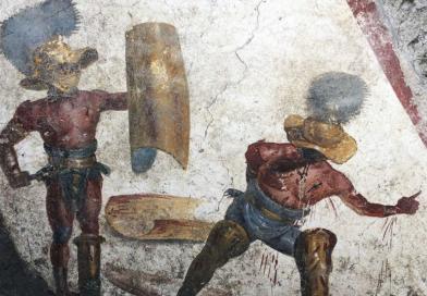 L'affresco dei gladiatori. Ecco l'ultima meraviglia emersa dagli scavi di Pompei