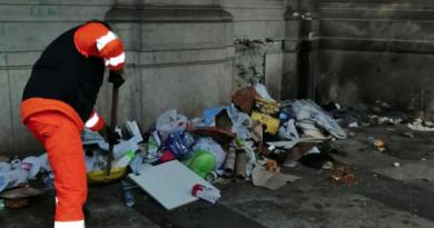 Via Morelli torna pulita eConfcommercio ringrazia