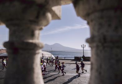 City Half Marathon, la Napoli che corre