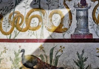 Pompei, il Larario con gli affreschi torna al MATT