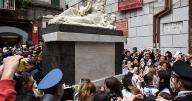 presentazione restauro Statua del Nilo_nov2014_photo Marco Ghidelli