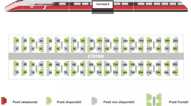 Coronavirus, Trenitalia: nuove misure a tutela di passeggeri e dipendenti