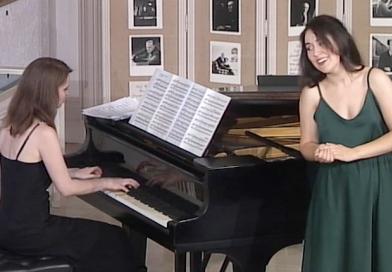 La Mortella,voce e pianofortenei giardini di Ischia