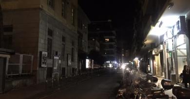 Vomero e Arenella, molte strade al buio