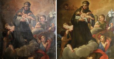 Dipinti e capolavori, restauri d'Italia con Archeoclub